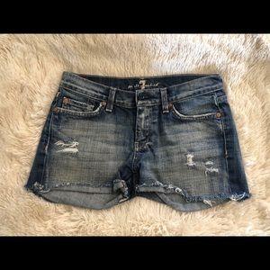 7 FAMK denim shorts